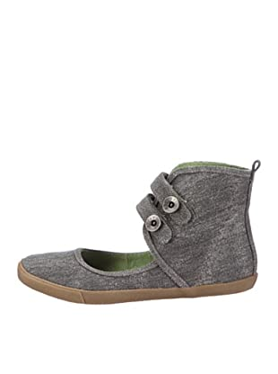 Blowfish Hordscope BFTB002SP12, Ballerine donna (Nero (Schwarz (black stonewash canvas BF39)))