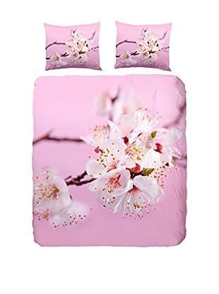 Good Morning Bettdecke und Kissenbezug Blossom