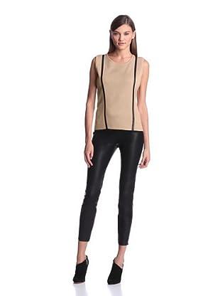 Calvin Klein Women's Sleeveless Sweater (Tan)
