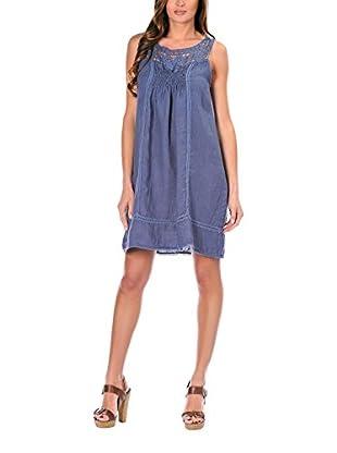100% lino Vestido Sandy