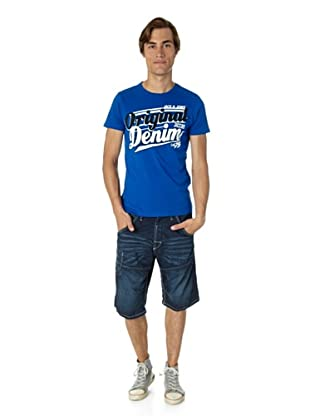 Jack & Jones T-Shirt Nub slim fit (Azul)