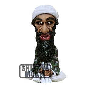 【レジン製デフォルメフィギュア】ウサマ・ビンラディン(11.5cm)アルカイダ Usama bin Ladin ノグナブ 120405