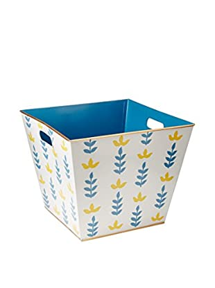 Jayes Foliage Storage Bin, Blue,