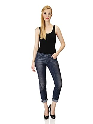 7 for all Mankind Cordhose Josefina Boyfriend (Indigo)