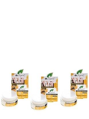 Dr.Organic Set 3 Crema Facial de Día Miel 50Ml (u)