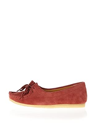 Clarks Wallabee Chic 20350118, Scarpe casual donna (Rosso (Rot (Blush Pink Suede)))