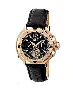 Heritor Automatic Uhr Lennon Herhr2806 schwarz 50  mm