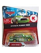 Disney / Pixar CARS Movie Exclusive 1:55 Scale Die Cast Car with Synthetic Rubber Tires Green Chick Hicks