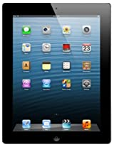 Apple iPad with Retina Display (Black, 64GB, WiFi + Cellular)