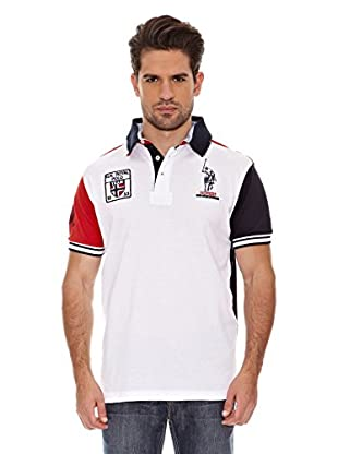 Geographical Norway Polo Manga Corta Kyle Ss Men 100 (Blanco)