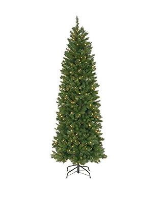 National Tree Company 7.5' Pennington Fir Hinged Pencil Tree