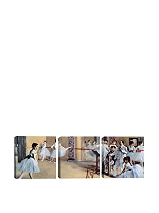 The Dance Foyer at The Opera by Edgar Degas(Panoramic)