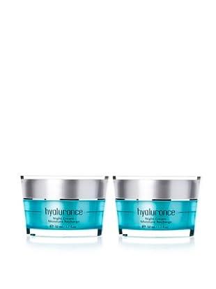 Hyaluronce Nachtcreme Duo 2x Nightcream Moisture Recharge à 50ml