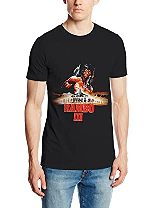 ICONIC COLLECTION - RAMBO Camiseta Manga Corta Rambo 3 Negro M