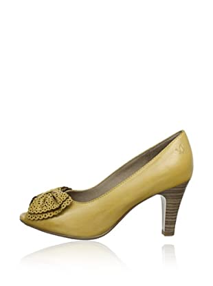 Caprice  Zapatos Peep Toe Guillelmina (Amarillo)
