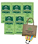 Organic India 5 Packs of Tulsi Green Tea