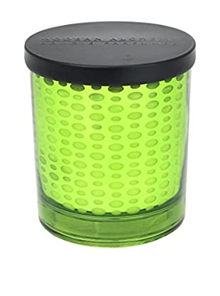 Modern Alchemy Dot Patterned Green Flowering Moss 10-Oz. Candle
