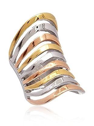 McKenzie Ring Rose (gold / versilbert / rosarot)