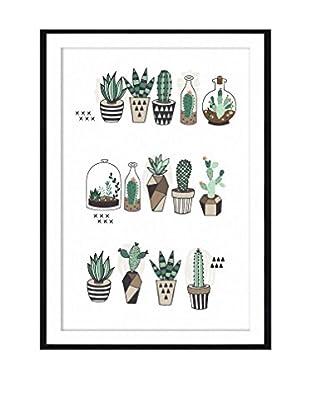 Really Nice Things Wandbild Cactus