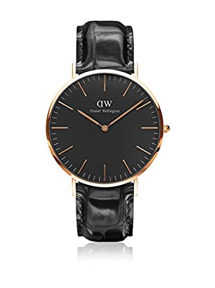 Daniel Wellington Reloj con movimiento cuarzo japonés Man Classic Reading 40 mm