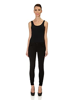 J Brand Hose Japanese Twill Jodhpur Modern Riding (Black)