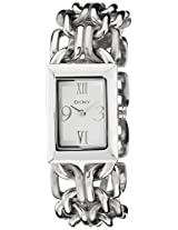 DKNY Analog Silver Dial Women's Watch - NY4493