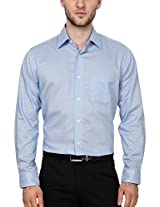 Allen Solly Men Regular Fit Shirt_AMSF515F05957_46_Blue