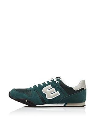 Erase Zapatillas Deportivas con Cordones (Verde)