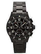 Movado Gents Analogue Black Dial Men's Watch - 606066