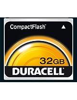 Duracell 32 GB 133x USB 2.0 Compact Flash Card DU-CF-32G-R