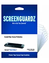 ScreenGuardz Ultra-Slim Screen Protector for T-Mobile Samsung Vibrant - 15 Pack - Transparent