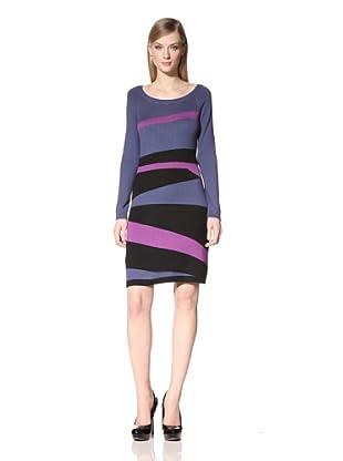 Marc New York Women's Colorblock Sweater Dress (Multi)