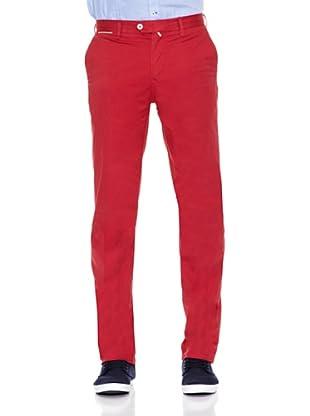 Pedro del Hierro Pantalón Pima Cotton Prosper (Rojo)
