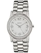 DKNY Analog Mother of Pearl Dial Women's Watch - NY8334