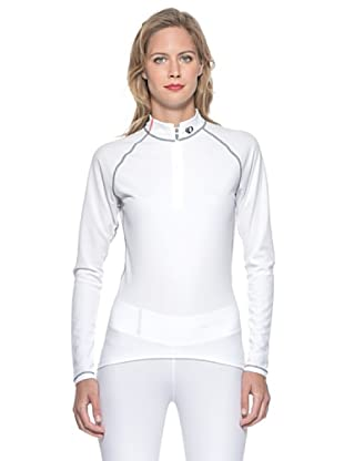 Pearl Izumi Maglia Intima W Trans Zip (Bianco)