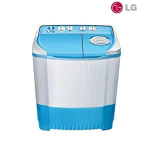 LG 6.5 Kg P7556N3F(NB) Top Loading Semi-Automatic Washing Machine-Ink Blue