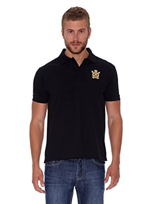 Polo Club Polo Custom Fit Básico (Negro)