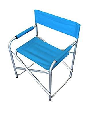 CARLO GUIDETTI Set Silla Plegable 2 Uds. Gabicce Azul