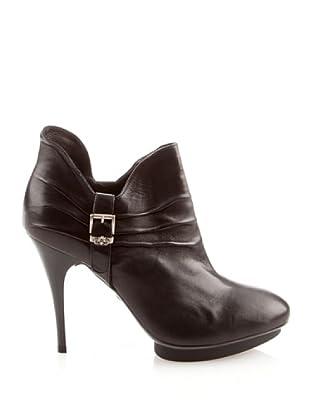 Fornarina VICTORIA PIFVC7858WC00 - Zapatos de cuero para mujer (Negro)