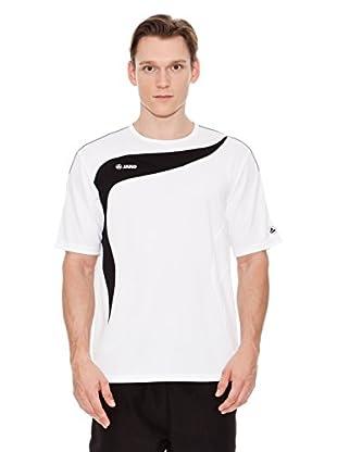 Jako Camiseta Técnica Running Competition (Blanco / Negro)