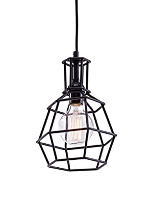 Zuo Christchurch Ceiling Lamp, Distressed Black