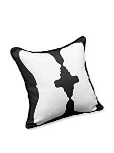 AphroChic Reflection Pillow (Black/White)