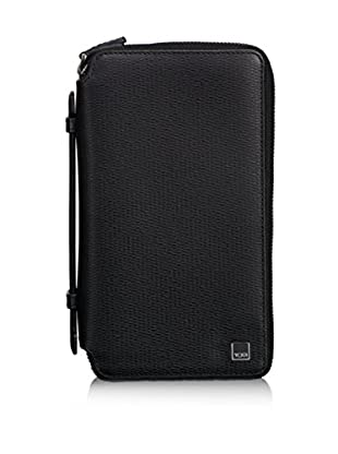 TUMI Monaco Executive Double Zip-Around Clutch, Black