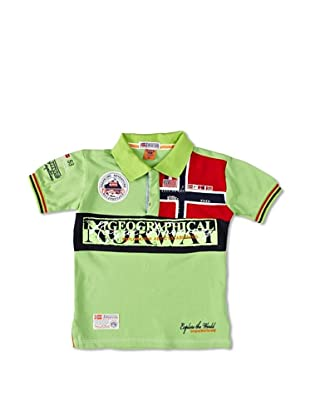 Geographical Norway Polo Manga Corta Kyer (Verde)