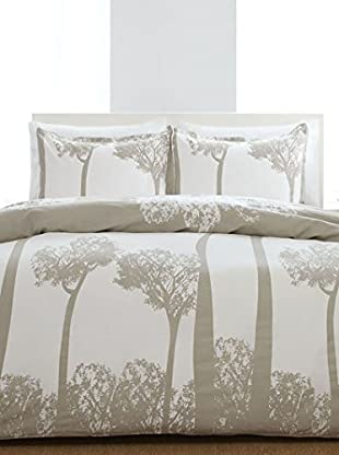 City Scene Tree Top Grey Mini Comforter Set