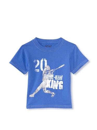 iNTAKT Boy's Home Run King Tee (Royal Blue)