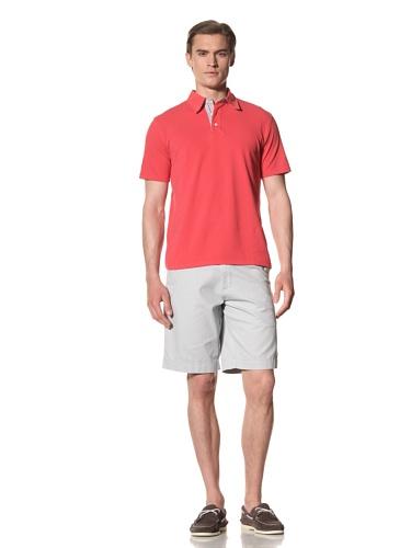 Report Collection Men's Pique Polo Shirt (Red)