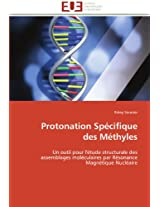 Protonation Specifique Des Methyles (Omn.Univ.Europ.)