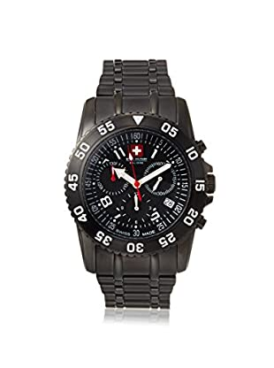 Swiss Military Calibre Men's 06-5C6 Chronograph Black Stainless Steel Watch