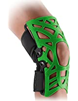 DonJoy Reaction WEB Knee Support Brace with Compression Undersleeve: Green, XXX-Large